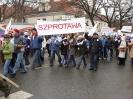 Manifestacja w Warszawie :: Szprotawianie na manifestacji