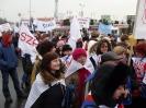 Szprotawianie na manifestacji